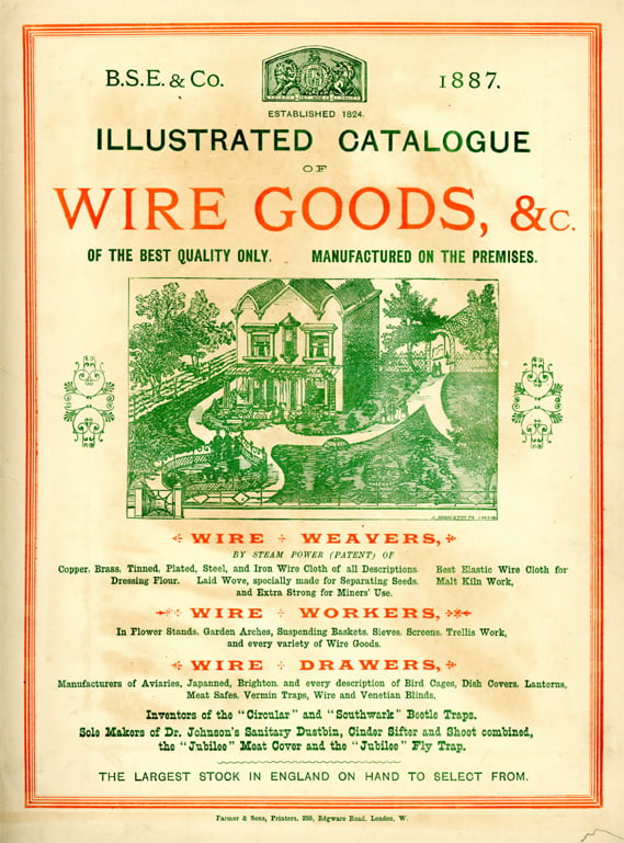 Wire goods catalogue