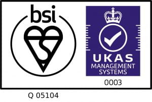Locker is certified to ISO 9001:2015. Certificate Number Q05104